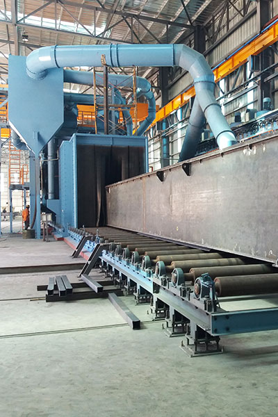 cleaning coating line min dhama steel structures co ltd